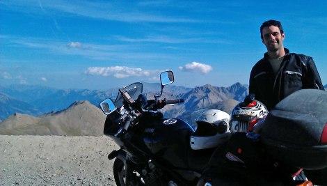Marcos Los Alpes franceses 2012 2800 m