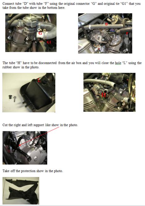 Install fuel tank Boano 1