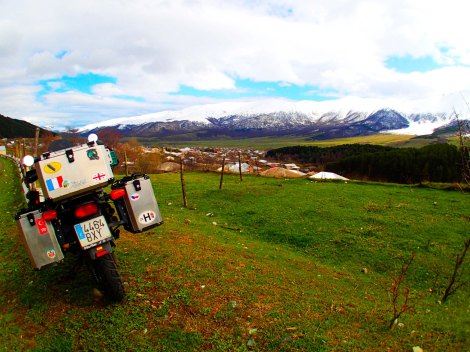 Armenia en moto